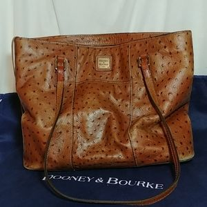 Dooney&Bourke Ostrich Small Lexington Tote